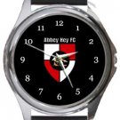 Abbey Hey FC Round Metal Watch