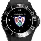 Yorkshire Amateur AFC Plastic Sport Watch In Black