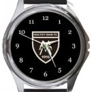 Maltby Main FC Round Metal Watch