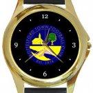 Bottesford Town FC Gold Metal Watch