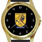 Albion Sports AFC Gold Metal Watch