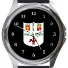 Coleshill Town FC Round Metal Watch
