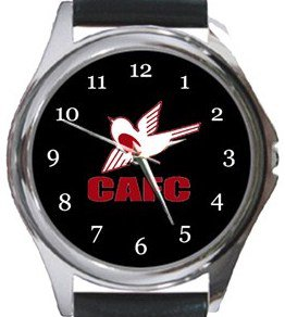 Carshalton Athletic FC Round Metal Watch
