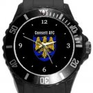 Consett AFC Plastic Sport Watch In Black