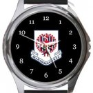 Seaham Red Star FC Round Metal Watch