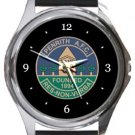 Penrith AFC Round Metal Watch