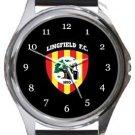 Lingfield FC Round Metal Watch