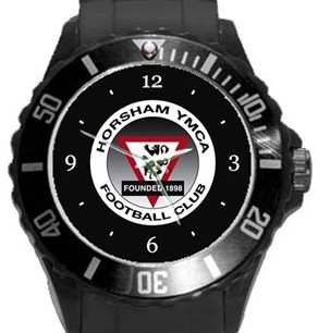 Horsham YMCA FC Plastic Sport Watch In Black