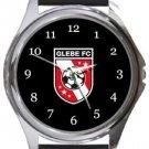 Glebe FC Round Metal Watch