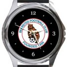 Bearsted FC Round Metal Watch