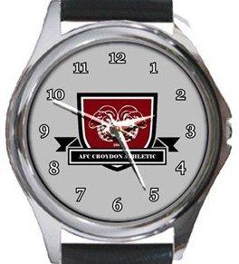 AFC Croydon Athletic Round Metal Watch
