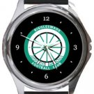 Biggleswade FC Round Metal Watch