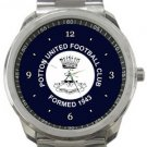 Potton United FC Sport Metal Watch