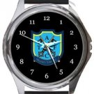 Arlesey Town Football Club Round Metal Watch