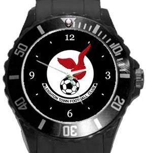 Leighton Town FC Plastic Sport Watch In Black
