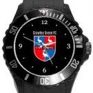 Crawley Green FC Plastic Sport Watch In Black