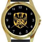 Stotfold FC Gold Metal Watch