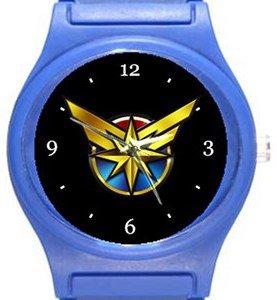 Captain Marvel Blue Plastic Watch