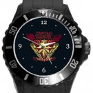 Captain Marvel Protector of the Skies Plastic Sport Watch In Black