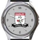 Hadley FC Round Metal Watch