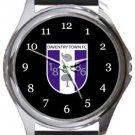 Daventry Town FC Round Metal Watch