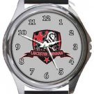Leicester Nirvana FC Round Metal Watch