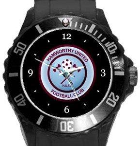 Hamworthy United FC Plastic Sport Watch In Black