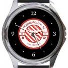 Bournemouth FC Round Metal Watch