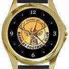 Bashley FC Gold Metal Watch