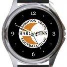 Bemerton Heath FC Round Metal Watch