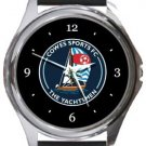 Cowes Sports FC Round Metal Watch
