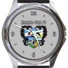 Hamble Club FC Round Metal Watch
