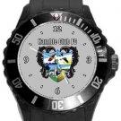 Hamble Club FC Plastic Sport Watch In Black