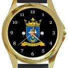 Baffins Milton Rovers FC Gold Metal Watch