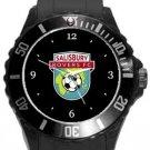 Salisbury Rovers FC Plastic Sport Watch In Black