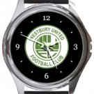 Westbury United FC Round Metal Watch