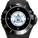 Clevedon Town FC Plastic Sport Watch In Black
