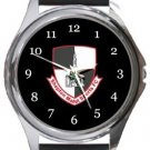 Shepton Mallet Sports FC Round Metal Watch