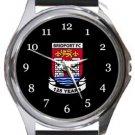 Bridport FC Round Metal Watch