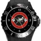 Barrow Town FC Plastic Sport Watch In Black