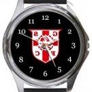 Graham Street Prims FC Round Metal Watch