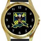 Bromyard Town FC Gold Metal Watch