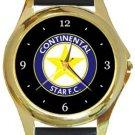 Continental Star FC Gold Metal Watch