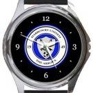 Harrowby United FC Round Metal Watch