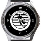 Clifton FC Round Metal Watch