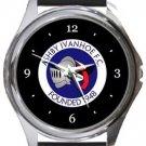 Ashby Ivanhoe FC Round Metal Watch