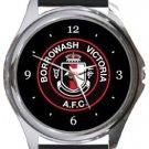 Borrowash Victoria FC Round Metal Watch