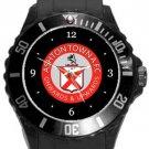 Ashton Town AFC Plastic Sport Watch In Black