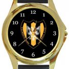 Falmouth Town FC Gold Metal Watch