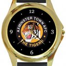 Axminster Town AFC Gold Metal Watch
